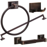 Randall Series 4-Piece Bath Accessories Set, Oil Rubbed Bronze