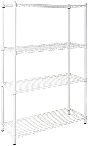 Honey-Can-Do Adjustable Storage Shelving Unit, 250-Pounds Per Shelf
