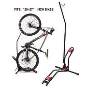 JAPUSOON Bike Rack Upright Bike Storage Stand Adjustable Bicycle Carrier