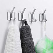 NEXCURIO Self Adhesive Hooks/Towel Hooks-Heavy Duty Wall Hanger Hanging