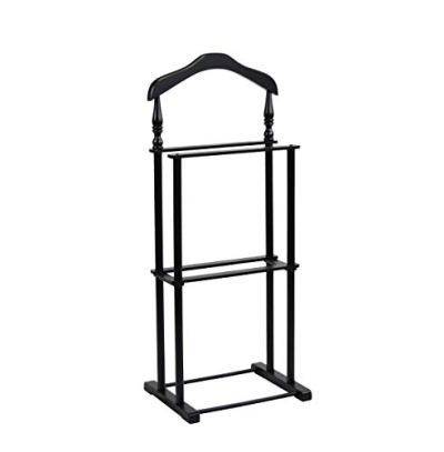 """Proman Products Twin Valet, 42.5"""" Height, Black"""" (Renewed)"""