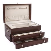 American Chest First Lady, 2-Drawer, Solid Cherry Jewelry Box