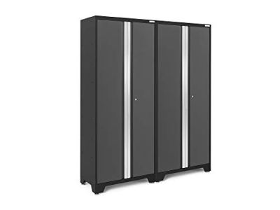 NewAge Products Bold Series 3.0 Gray 2 Piece Set, Garage Cabinets
