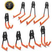 Lnicez Garage Storage Steel Heavy Hooks ,8 pcs Utility Duty Wall Hooks