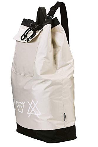 "HOME RUNNER Laundry Bag | 31.5""x24"" XL Size, Wide Shoulder Strap, Drawstring Closure, Carry Handles, Heavy Duty Nylon Shoulder Bag, Storage Pocket, Washable, College or Apartment Laundromat Bag"