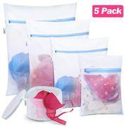 Plusmart Mesh Laundry Bags for delicates, Bra Lingerie Wash Bags