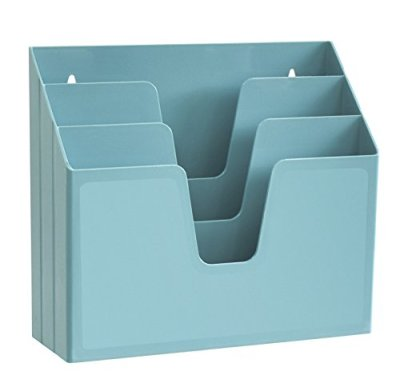 Acrimet Horizontal Triple File Folder Organizer