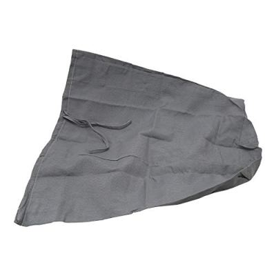 Redmon Rectangular Willow Hamper Cloth Gray Liner