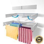 Step Up Laundry Drying Rack - Wall Mounted - Retractable - Clothes Drying Rack