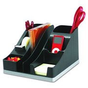 Deflecto Silhouettes All-In-One Desk Caddy, Office Supplies Caddy