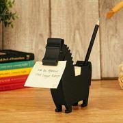 Memo Holder Desktop Note pad Dispenser Horse Pen Holder Multi-Functional