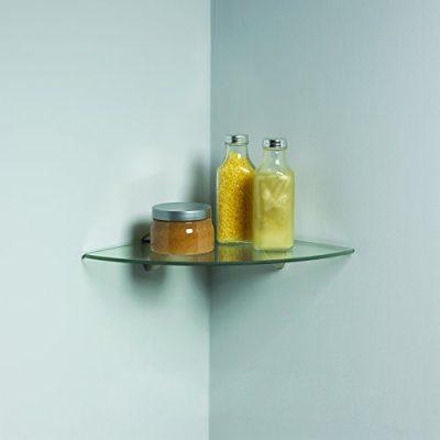 Knape & Vogt Vogt Decorative Corner Glass Shelf Kit L X 12 in W