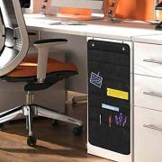 Sinzip Heavy Duty 5 Pocket Door Hanging File Organizer, Black Wall Storage Pocket