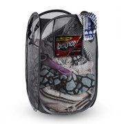 NYHI Mesh Pop-Up Foldable Laundry Hamper |Laundry Basket Foldable and Portable