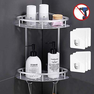 Flowmist 2 Tiers Corner Shower Caddy, Shower Organizer