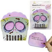 Numskull Notes Novelty Zombie Sugar Skull Sticky Notes Stationary Holder