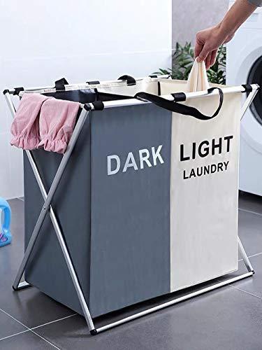 FENGLE 125L Laundry Basket Clothes Hamper Organizer Sorter Storage Foldable