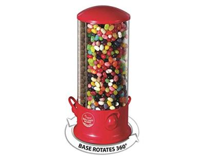 Triple Compartment Candy Machine | Cool Countertop or Desk Candy Dispenser