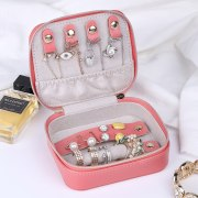 Colors Portable Travel Small Jewelry Box Storage