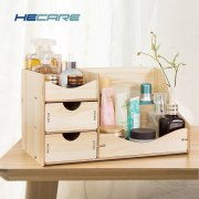 Wooden Cosmetic Organizer Home Makeup Organizer