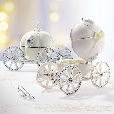 Cinderella Pumpkin Carriage box Jewelry