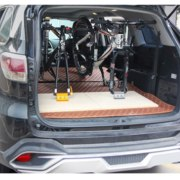 Fork Mount Bicycle Truck Bed Roof Bike