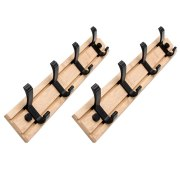 2Pcs Bedroom Furniture Coat Rack Clothes Hanger Hooks