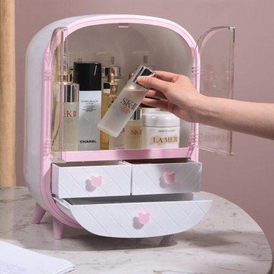 Storage Box Dust-Proof Household Makeup Organizer