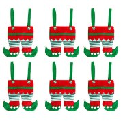 Decor Santa PantS Kids Wedding Packaging Reusable Treat