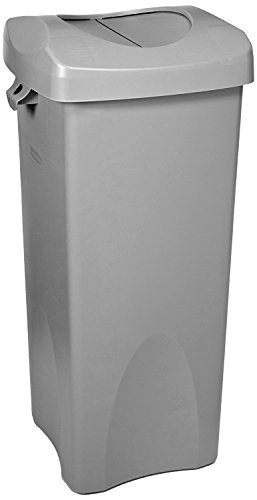 Untouchable Square Trash/Garbage Container with Lid