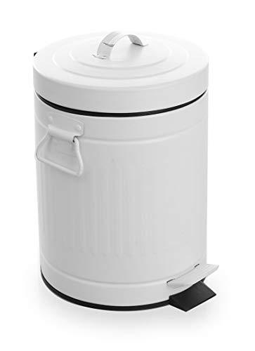 BINO Stainless Steel 1.3 Gallon / 5 Liter Trash Can