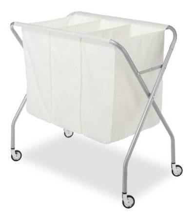 Whitmor 3 Section Laundry Sorter - Collapsible