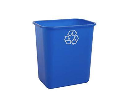 Quart Efficient Recycle Wastebasket Fits Under Desk