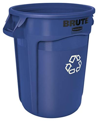 Heavy-Duty Round Recycling/Composting Bin