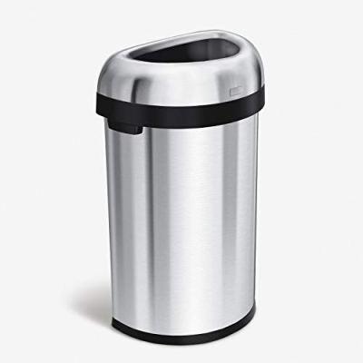 simplehuman 60 Liter / 15.9 Gallon Large Semi-Round