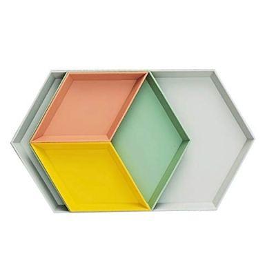 MCleanPin Trinket Dish, Unbreakable Geometric Vanity Tray