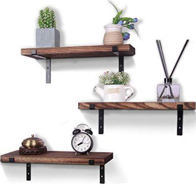 Rustic Wood Floating Shelves Farmhouse Wooden Wall Shelves