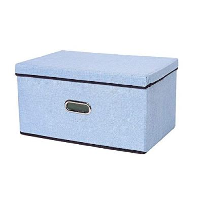 321OU Kids Large Toy Chest with Flip-Top Lid, Toy Storage Boxes