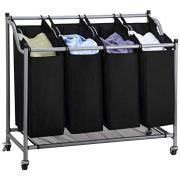 Classics Rolling Laundry Hamper, Laundry Sorter