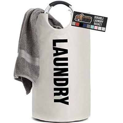 Gorilla Grip Premium Laundry Basket, Heavy Duty Clothes Bag
