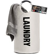 Gorilla Grip Premium Laundry Basket, Heavy Duty Clothes Bag