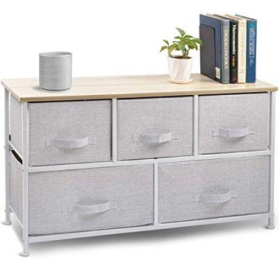 Wide Drawer Dresser Storage Organizer