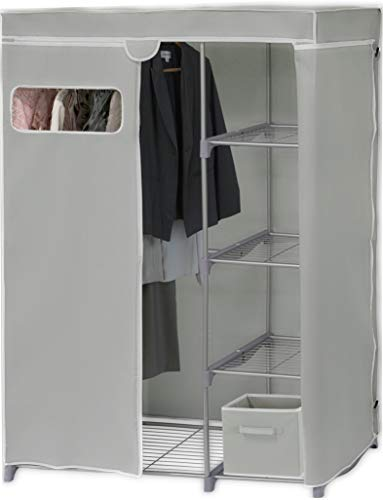 Simple Houseware Freestanding Cloths Garment Organizer