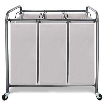 STORAGE MANIAC 3 Section Laundry Sorter