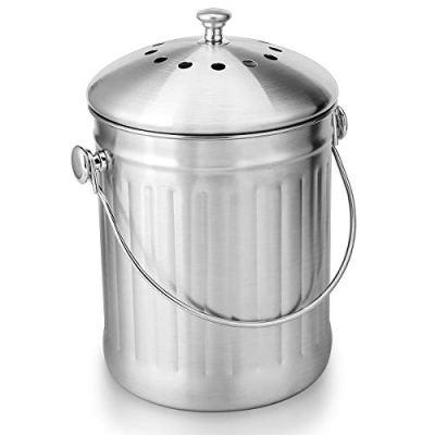 Indoor Compost Bucket for Kitchen Countertop