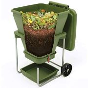 Worm Farm Compost Bin - Continuous Flow Through Vermi Composter