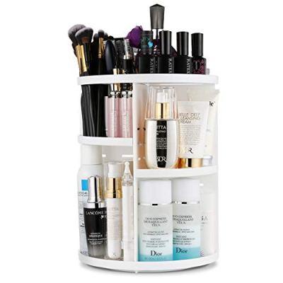 360 Degree Rotating Vanity Makeup Organizer