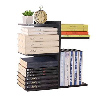 YCOCO Desktop Shelf Bookshelf,Wood Countertop Bookcase