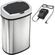Touchless Sensor Kitchen Trash Can 13 Gallon