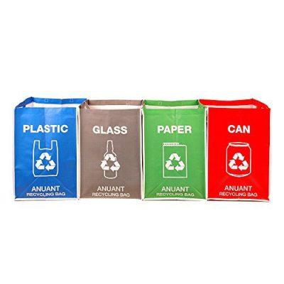 Recycle Garbage Trash Sorting Bins Organizer